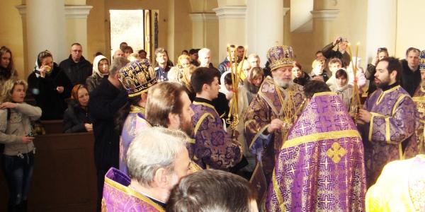 Svěcení nového chrámu v Berouně