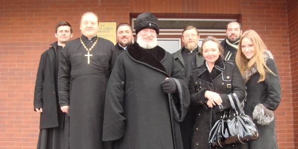 První archijerejská liturgie v Klatovech