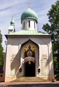 Chrám Zesnutí Přesvaté Bohorodice na Olšanských hřbitovech