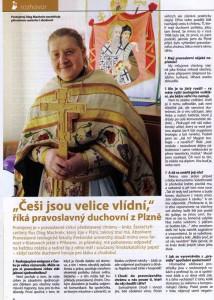 Ptavoslavný kněz Oleg Machněv