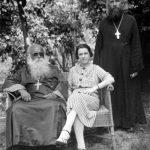 Červen 1935, Drážďany. Na návštěvě u prot. Ioanna Možarovského.