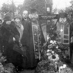 2. srpna 1938, Praha. Pohřeb Františky Černohlavkové.