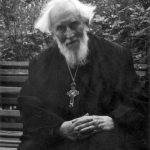 Rok 1970, na svátek Archanděla Michaila ve vnitřním dvoře Profesorského domu.